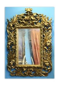 Ogledalo  Italija, kraj 18. veka Dimenzije: 143 x 90 cm