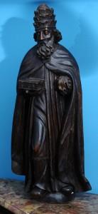 Sveti Petar, figura  Drvo, 16 vek S. Italija Visina: 88 cm