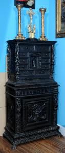 Kabinet ,duborez  Italija,Đenova,početak 19.veka Dimenzije 165 x 84 cm
